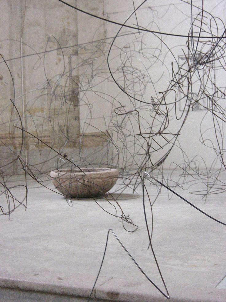 Angyalok. Térinstalláció. Komárom, Limes Galéria / Anjeli, priestorová inštalácia, Komárno, Galéria Limes