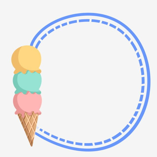 Delicious Ice Cream Border Delicious Ice Cream Cartoon Border Small Border Png Transparent Clipart Image And Psd File For Free Download Ice Cream Summer Ice Cream Prints For Sale