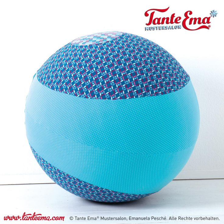 Tante Ema® Sitzballbezug Vulcano in Blautönen