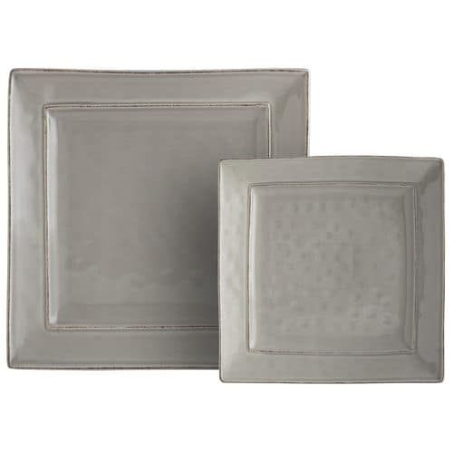 """Our glazed stoneware pieces have been crafted by hand, so they have the rustic look, irregular surfaces and rubbed edges you'd expect from farmhouse pottery. And somehow? They're still refined. Classic silhouettes and soft color make them an easy choice for special occasions; the fact that they're dishwasher-safe makes them a natural for everyday use.<br /><br /><a href=""""https://www.pier1.com/on/demandware.store/Sites-pie..."""
