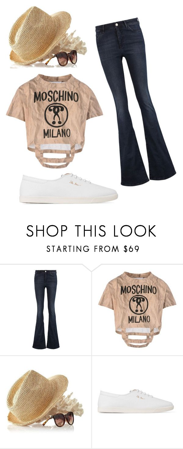 """""""jeans"""" by mariella-montanaro on Polyvore featuring M.i.h Jeans, Moschino, Mark & Graham and The Row"""