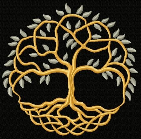Advanced Embroidery Designs - Celtic Tree of Life II