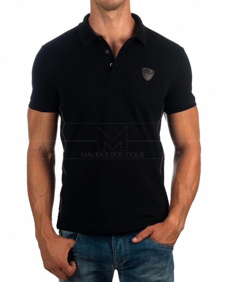 Polos Armani EA7 Negro - Logo Vip | Envio Gratis