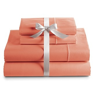Bloomingdale 39 S Basic Essentials 425tc Solid Sateen Sheet Sets Coral Bloomingdale 39 S Bedroom