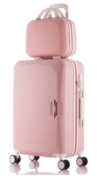 Best 25  Pink suitcase ideas on Pinterest | Pink luggage, Pink ...