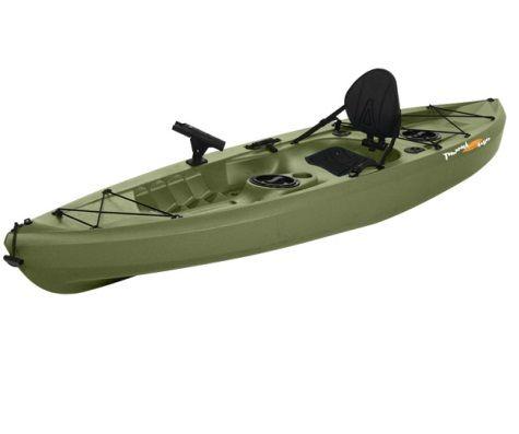Lifetime tamarack 120 sit on top angler kayak kaleb for Tamarack fishing kayak