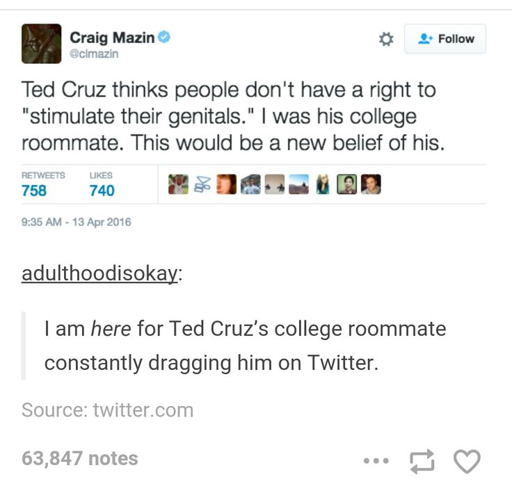 Ted Cruz's college roommate is amazing