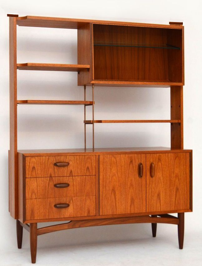 1960s Teak / Afrimosia G-Plan Room Divider