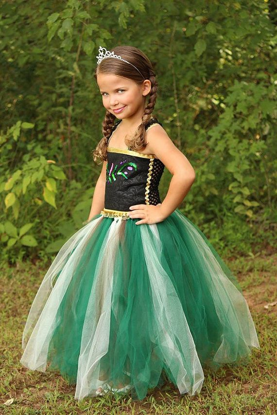 No Sew TuTu costumes for little girls - anna costume