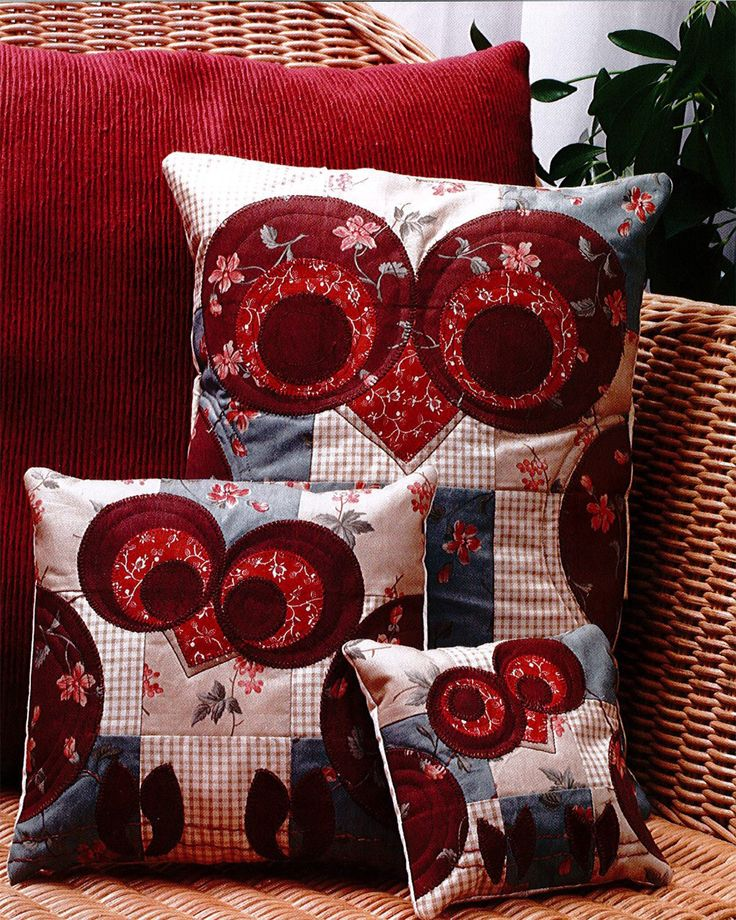 GO! Give a Hoot Owl Pillows - Patterns
