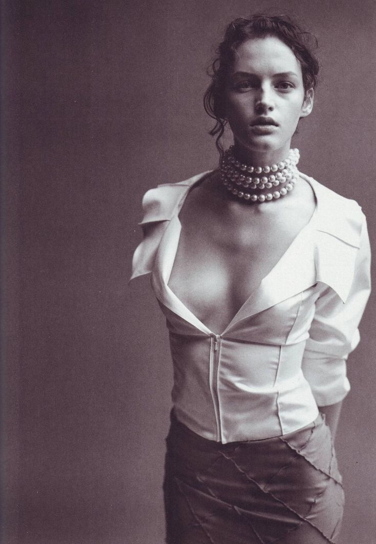 """""""Portrait of Style,"""" featuring Vivien Solari, photographed by Peter Lindbergh for Vogue Italia"""
