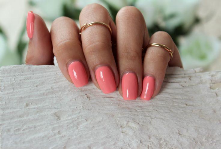 Kosmetyczna Hedonistka Blog: Beauty | Lifestyle: IDEALNY MANICURE NA LATO: SEMILAC 102 PASTEL PEACH .