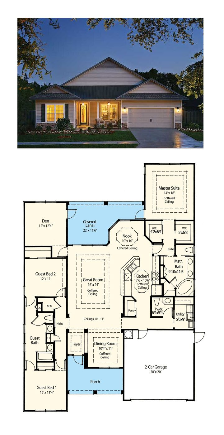 139 best images about floor plans on pinterest for Award winning ranch house plans