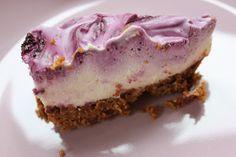 Hjertelill: Ostekake med blåbær - oppskrift!
