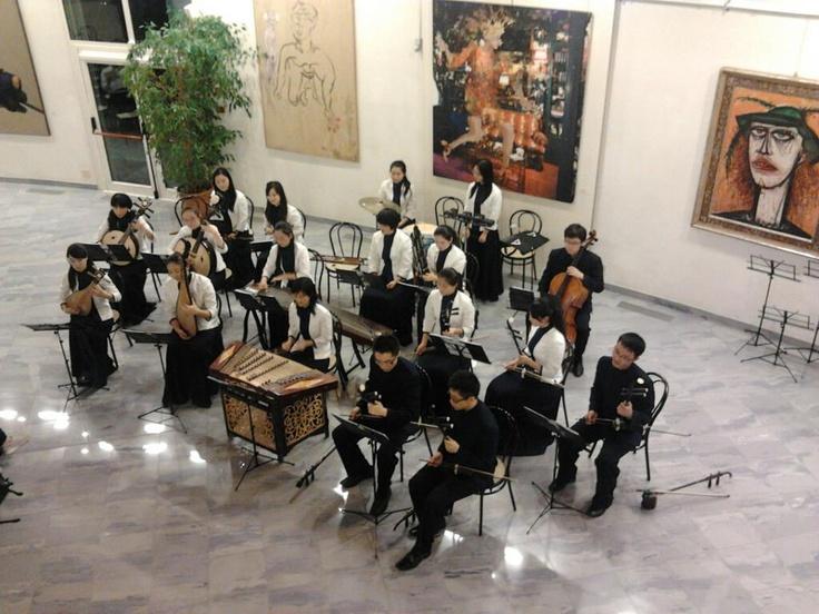 Giovani musicisti a Ca' la Ghironda ModerArtMuseum (Bologna)