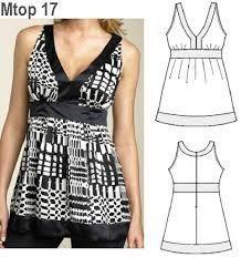 patrones de blusas modernas.                                                                                                                                                                                 Más