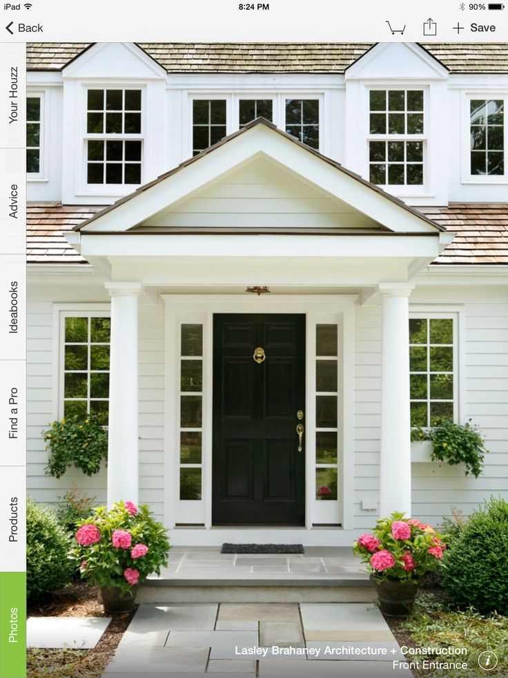 43 best portico images on Pinterest | Front doors, Front ...