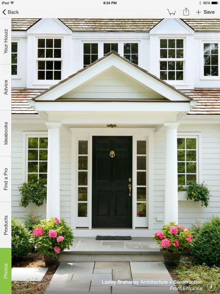 43 best portico images on Pinterest | Front doors, Front ...