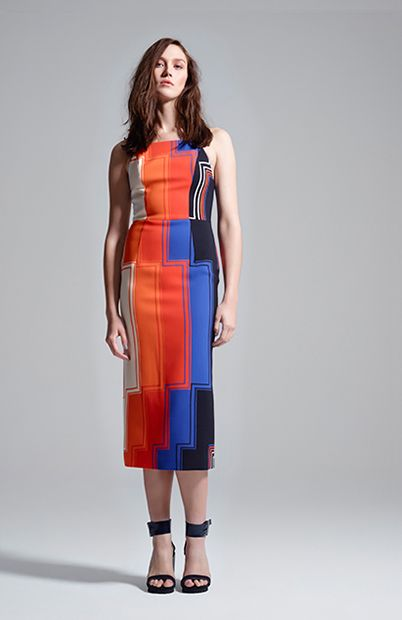 pantone party sheath dress #manningcartell #gamesofscale #AW15