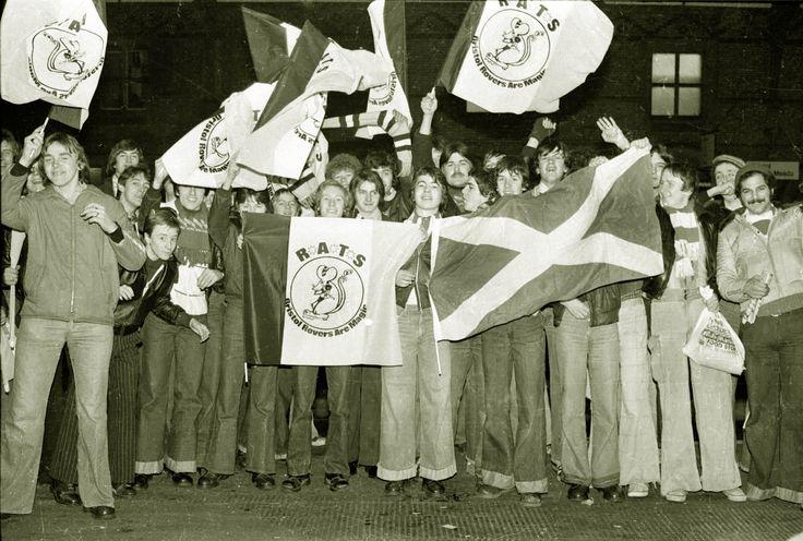 Bristol Rovers Fans 1970s.
