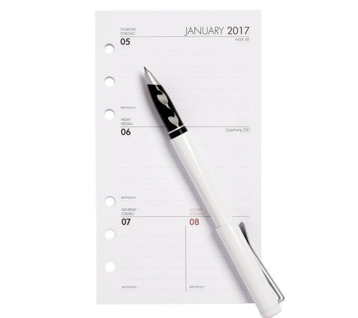 2017 TIME PLANNER REFILL: MEDIUM
