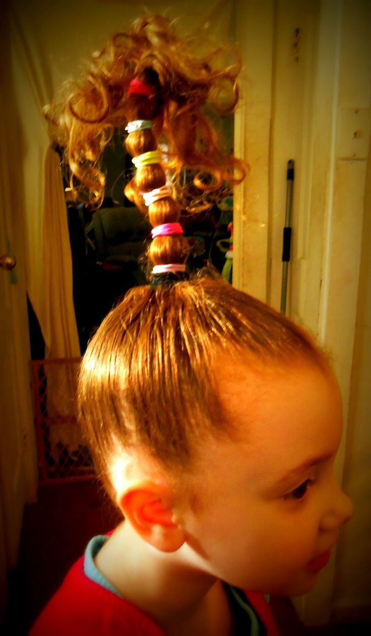 Dr. Seuss Hair Day | Via Queen of Makeovers, Dazzling Dianne