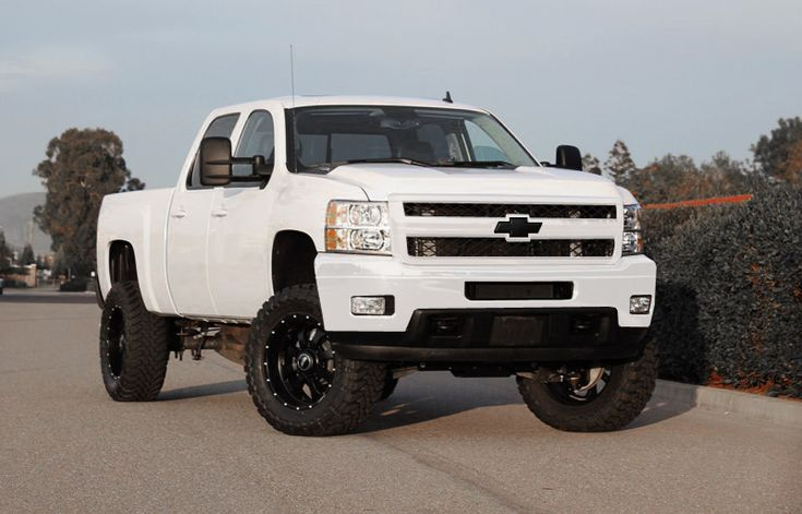 Chevy Silverado - ¡¡¡ I can see my wife in this badass truck!!!