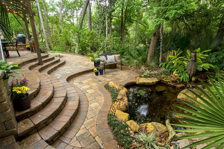 Create Your Own Backyard Hideaway With Tremron Hardscape