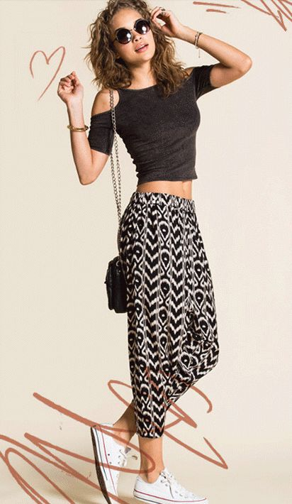 harem pant outfit ideas  Urban Outfitters