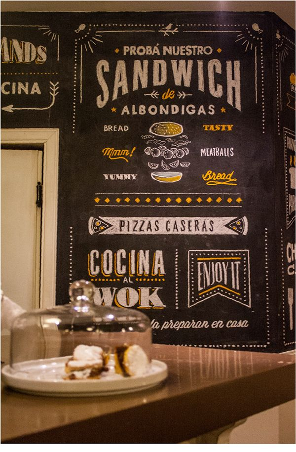 Blackboard Lettering | Frik's on Behance