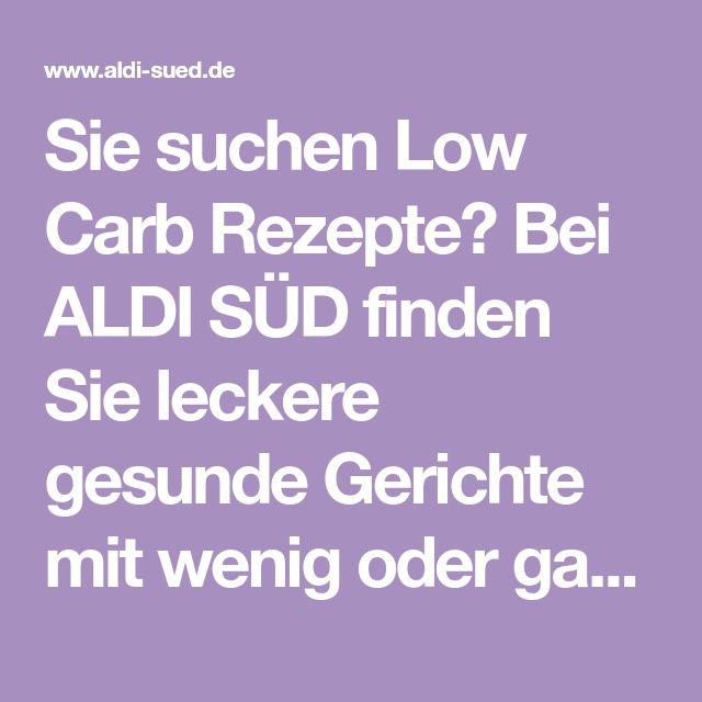 Sie suchen Low Carb Rezepte? Bei ALDI SÜD finden Sie leckere gesunde - aldi küchenmaschine testbericht