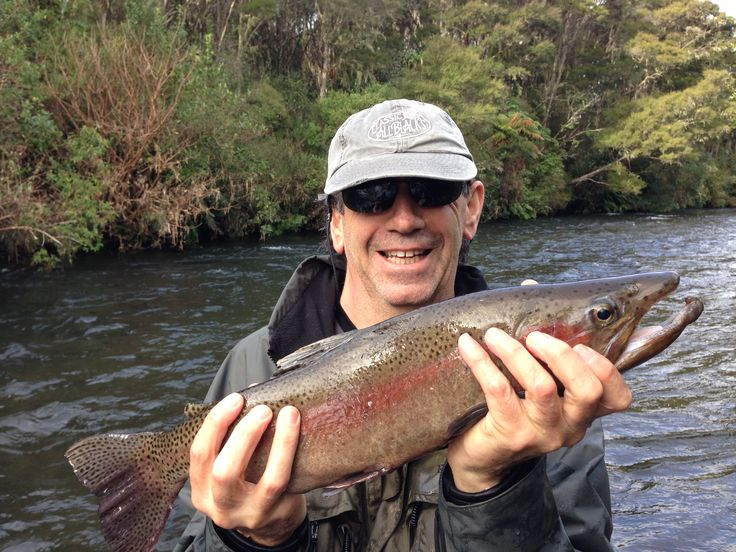 That Chris Brennan can turn an average fisho into a good one! www.flyfishingguidetaupo.co.nz/