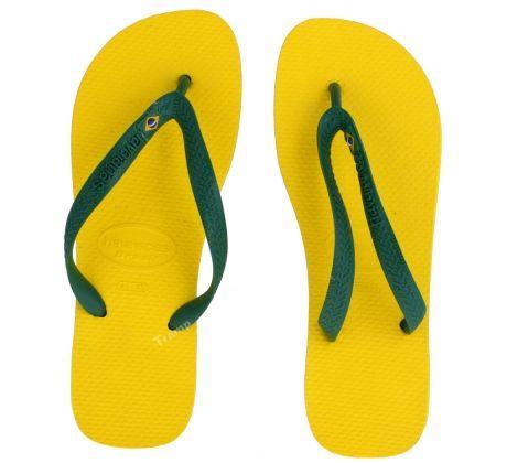 #HAVAIANAS BRASIL amarelo citrico    http://tramp4.pl/mezczyzna/obuwie/sandaly_i_klapki/klapki_japonki_havaianas_brasil_amarelo_citrico.html