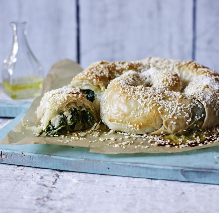 Once you've mastered filo pastry you'll want to return to this delicious vegetarian recipe time and time again