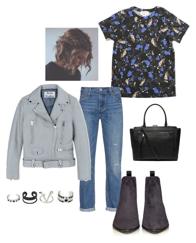 """Untitled #32"" by manjap on Polyvore featuring Acne Studios, Levi's and Witchery"