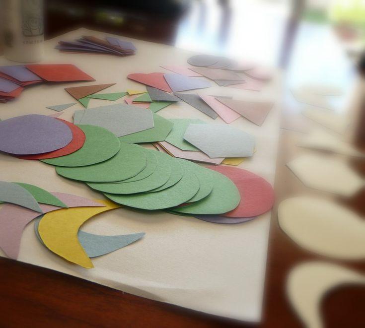 25 Best Ideas About Nursery Collage On Pinterest: Best 25+ Shape Collage Ideas On Pinterest