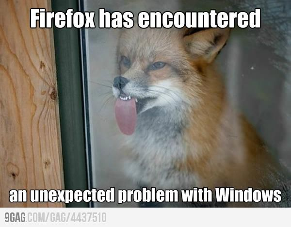 now I imagine this happening when my firefox crashes, LOL