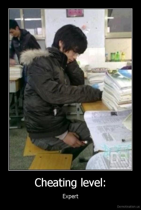 Cheating level: - Expert