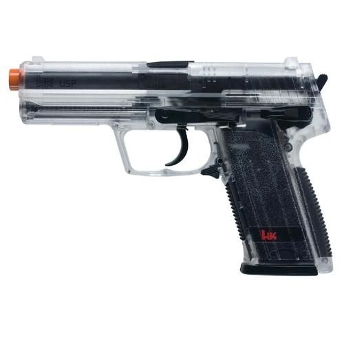 Heckler & Koch USP CO2 Airsoft Gun Clear