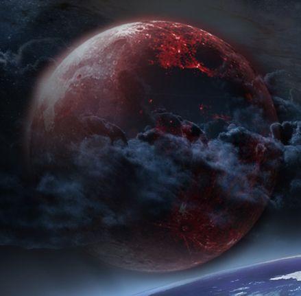 Señal de las 4 lunas de sangre