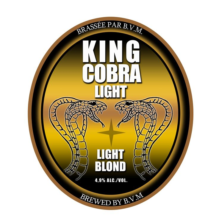 King Cobra Light - newest addition to our beers on tap!