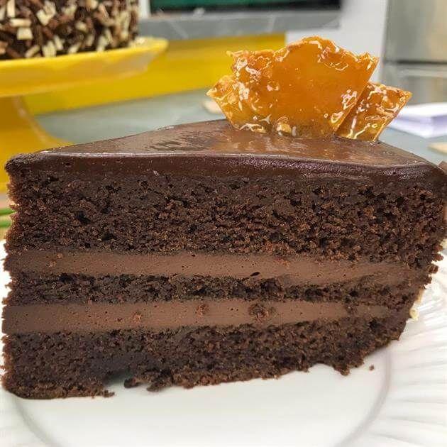 Bolo Mousse De Chocolate Receita Com Imagens Ideias De