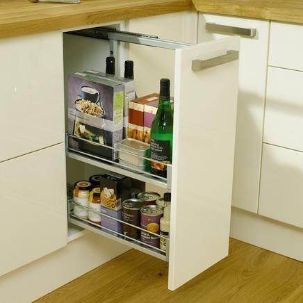 Pull out base unit 300mm kitchen storage solutions for Kitchen base unit shelf