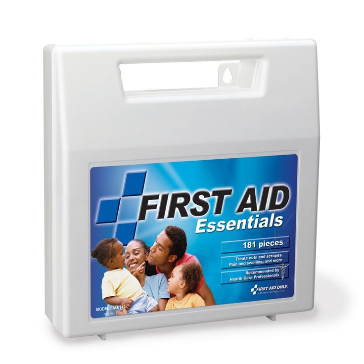 First Aid Only All Purpose First Aid Kit - 181 Pieces - FAO-142