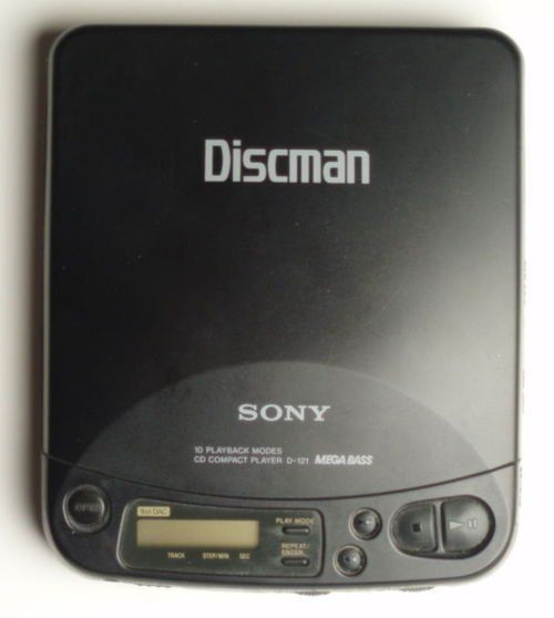 Classic Sony Discman - I remember mine!!! with my Ace of Base CD :)