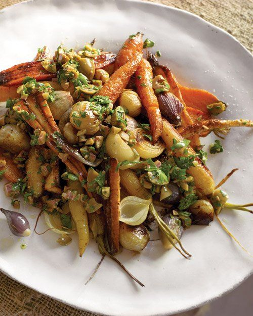 Roasted Carrots, Parsnips, and Shallots | Recipe