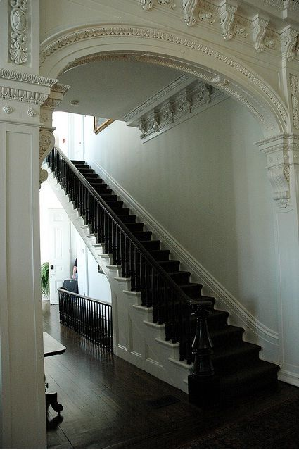 Beautiful Hall and Staircase.
