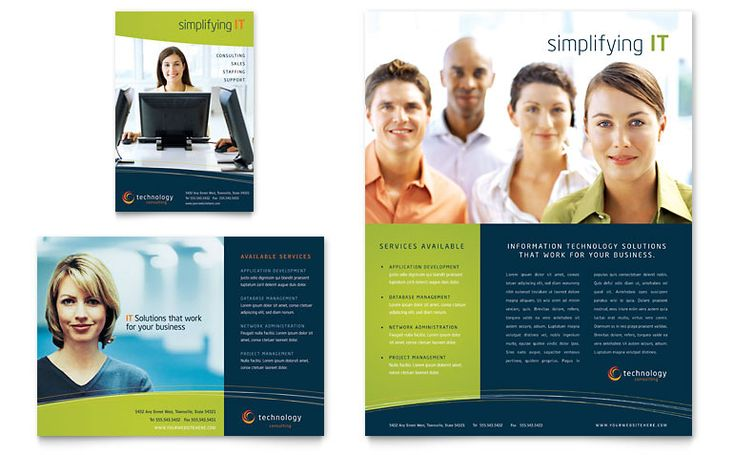 Free Sample Flyer Template - use layout with different colors