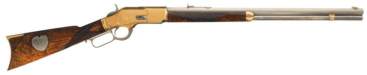 Capt. Jack Crawford's Engraved Winchester Model 1873 Lever-Action Rifle http://riflescopescenter.com/nikon-monarch-review/