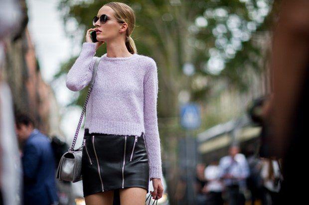Gatemote fra Milano Fashion Week - Street style fra Milan Fashion Week